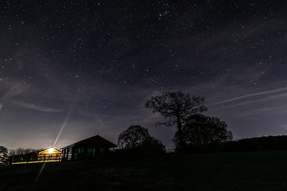star gazing at west middlewick farm